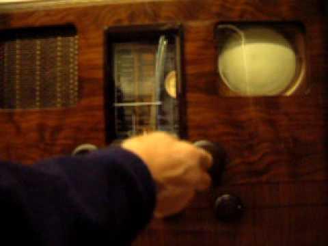 The Oldest Television TV still in service. Marconi EMI model 706 904.