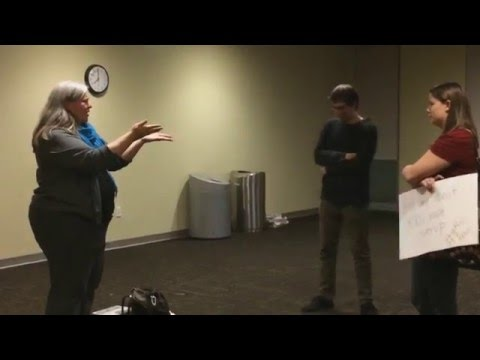 Steff Yorek Confronted at International Womens Day Event at USF