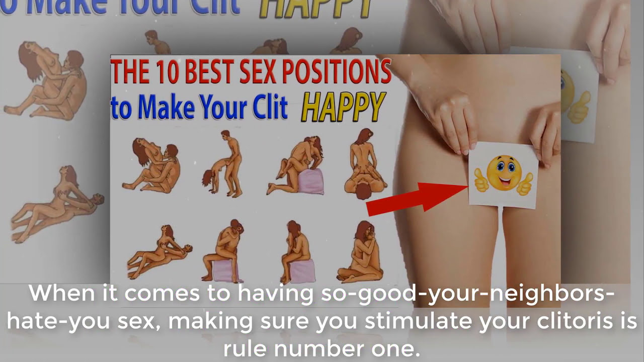 sex positions to hit the clit