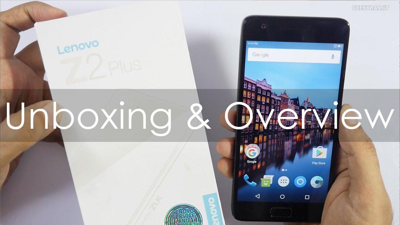 Lenovo Z2 Plus Unboxing & Overview (Indian Retail Unit)