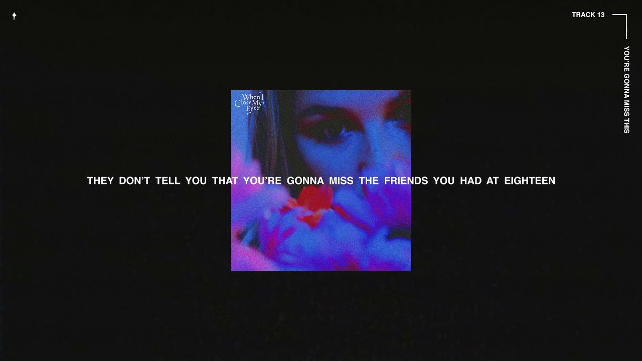 Download Chelsea Cutler - You're Gonna Miss This (Official Lyric Video)