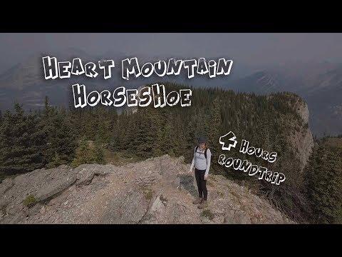 Hiking in the Canadian Rockies: Heart Mountain Horseshoe