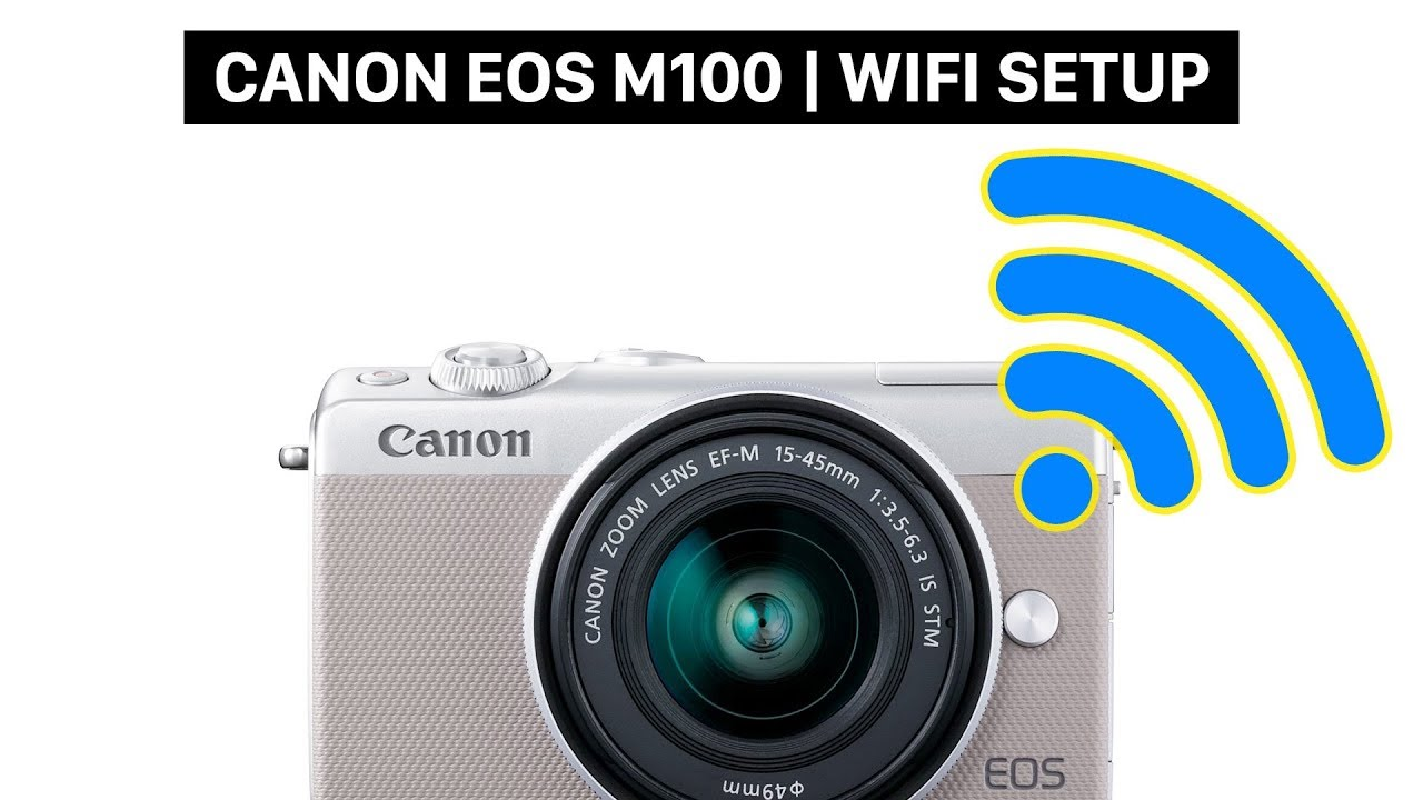 connect your canon eos m100 with your smartphone canon. Black Bedroom Furniture Sets. Home Design Ideas