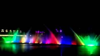 фонтаны винница(Самый большой в Европе плавучий светомузыкальный фонтан