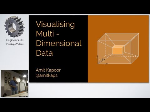 Visualising Multi-Dimensional Data - Data Science SG