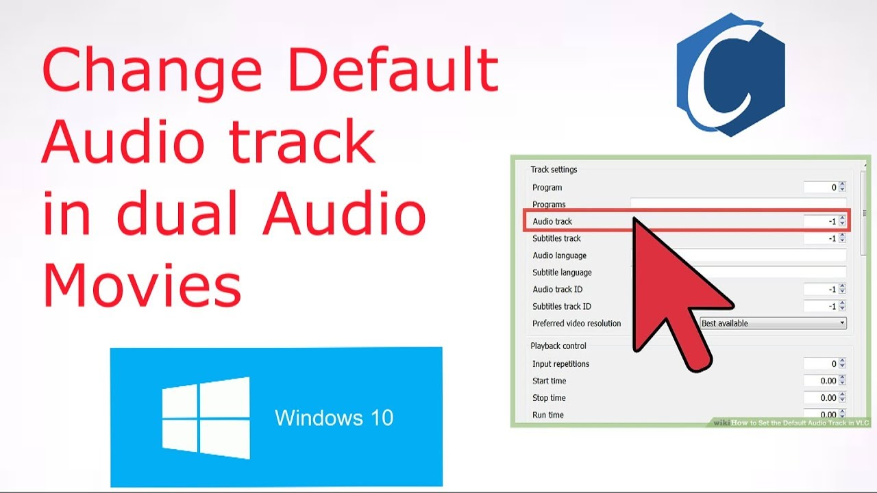 How to change default audio track in dual audio movie
