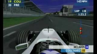 F1 Career Challenge Xbox Gameplay