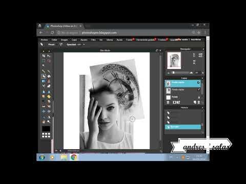 COMO hacer DISEÑO para TATUAR photoshop ONLINE
