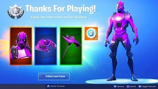 Comment GET THE EXCLUSIVE VERTICE DARK PACK IN FORTNITE!