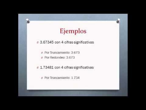 Curso de Métodos Numéricos - Truncamiento y Redondeo