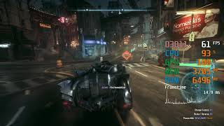AMD Radeon RX 570 -- Intel Core i3-8100 -- Batman Arkham Knight FPS Test