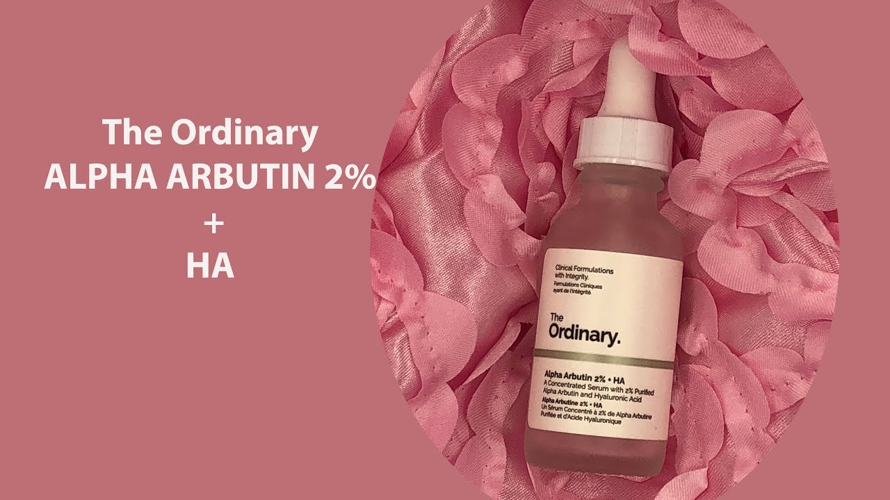 The Ordinary Alpha Arbutin 2 Ha Serum Lighten Your Hyperpigmentation Youtube