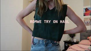 Romwe try on haul! Black Friday sale :)