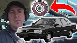 Как выявить гудящий подшипник ? Американский автослесарь опять облажался !