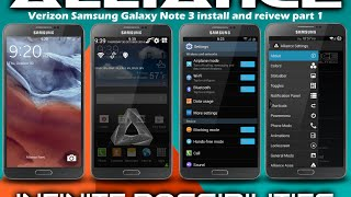 Samsung Galaxy Note 3 Alliance Rom Build 2 install and review