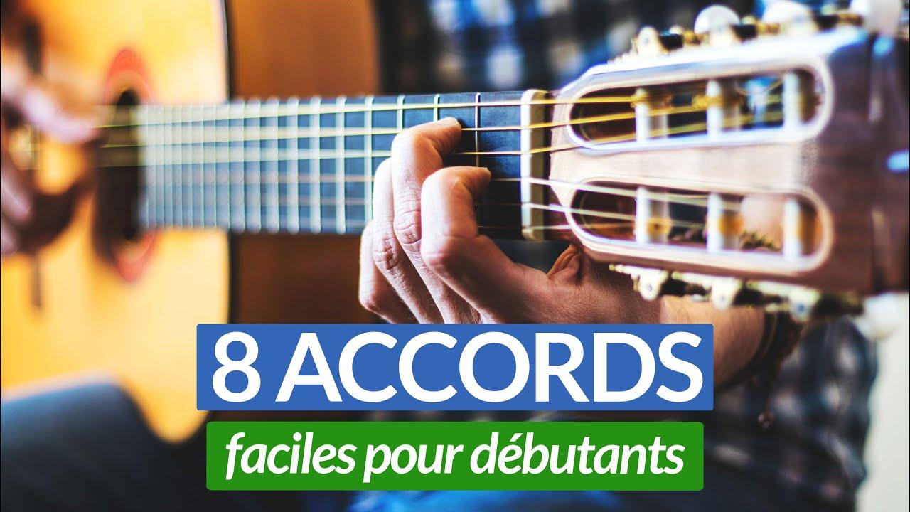 Guitare : les 8 principaux accords faciles pour débutants ...