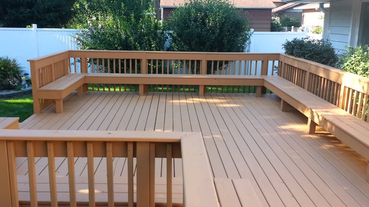 Hrs Home Services Product Review Sherwin Williams Deckscapes Part 2 After