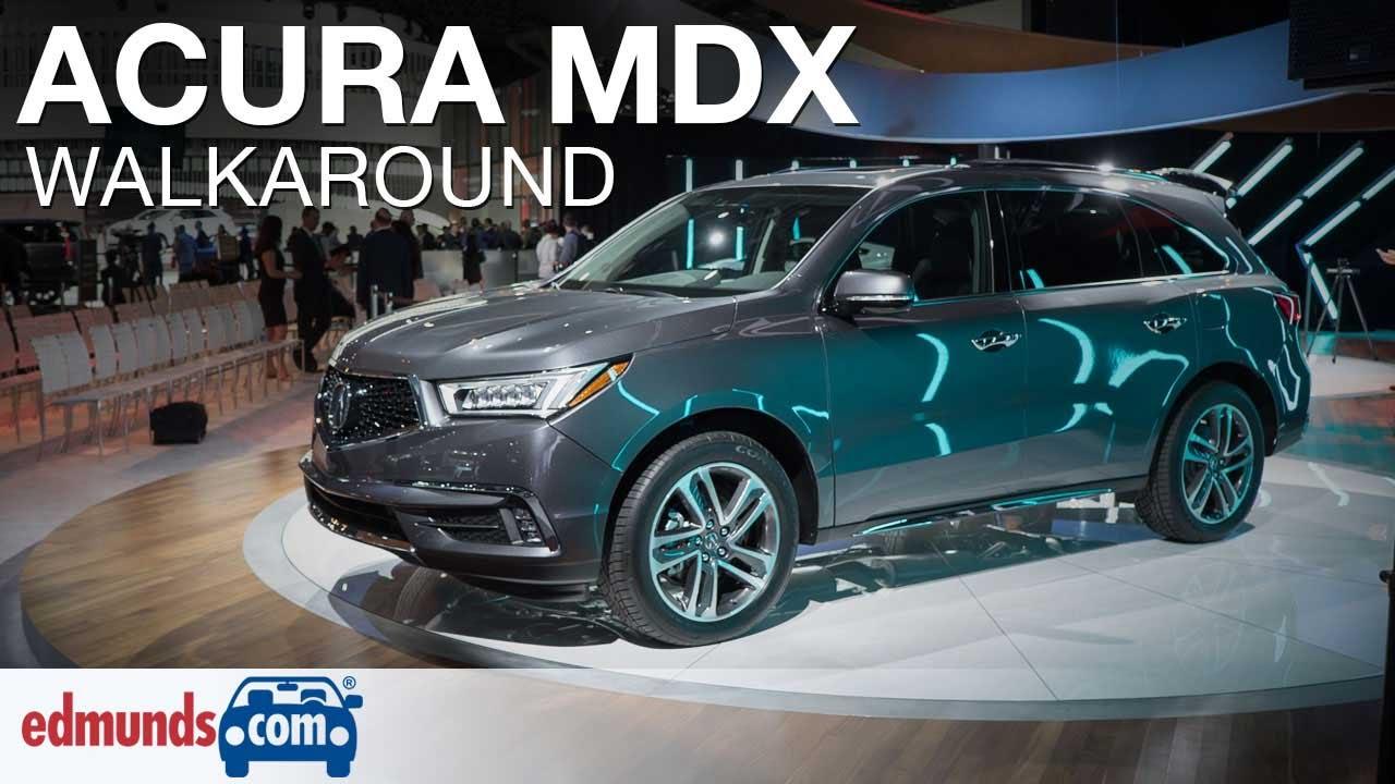 Simple 2017 Acura MDX Walkaround  YouTube