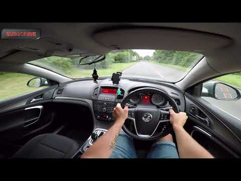 2011 Vauxhall Insignia 2.0 Cdti POV Test Drive Acceleration 0-60 Review Engine Sound By ORC