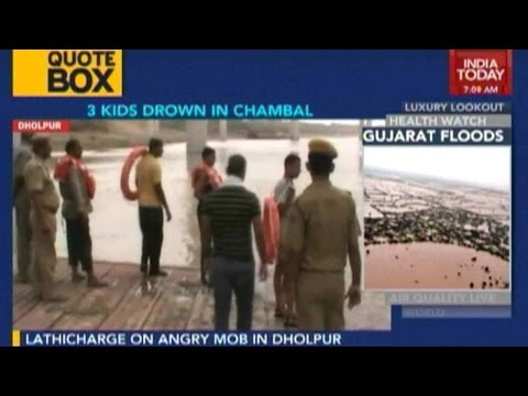 No Luck In Finding 3 Children Who Drowned In Chambal River