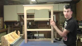 How To Build A Buffet With Hutch Part 3 Of 5