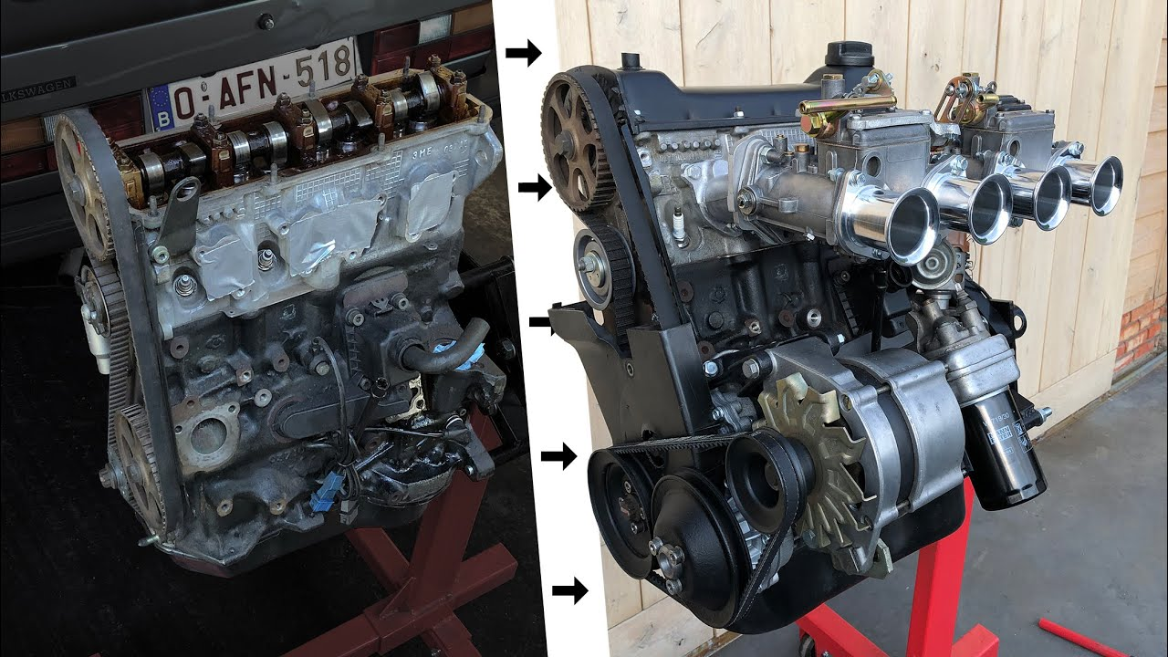 Golf Mk1 2.0L 8v Engine Swap - Pt.2: Finishing The Engine