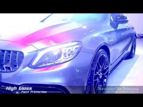 Mercedes AMG C63s Selenite Grey Definitive Sydney Liquid Glass Ceramic Coating High Gloss Paint Prot