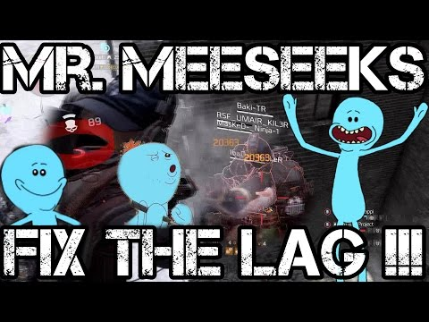 Mr. Meeseeks FIX THE LAG! IMPOSSIBLE TASK... FUNNY!!! - The Division