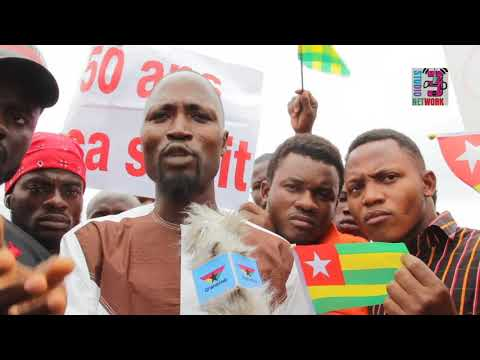 Togolese in Ghana protest against Gnassingbe 50-year family dynasty