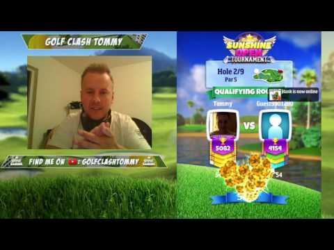 Golf Clash stream, Qualifying round LIVE - Sunshine Open - MASTERS TEE, Part 1
