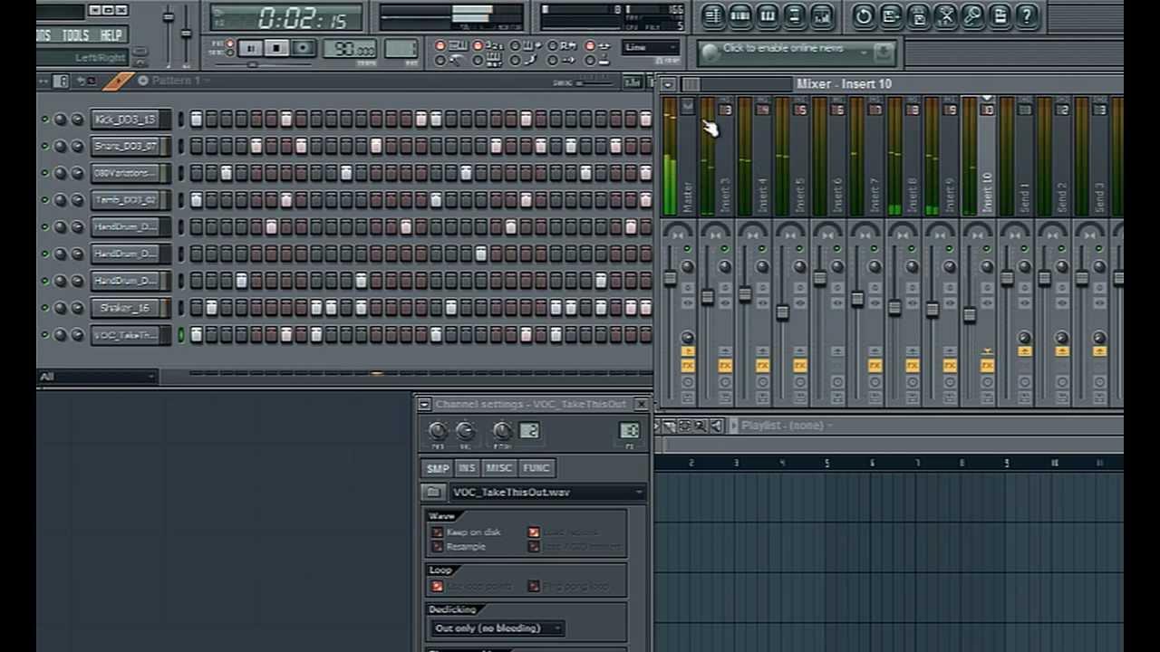 # 7 drum Beats [Hip Hop] [tutorial FL studio] (HD)