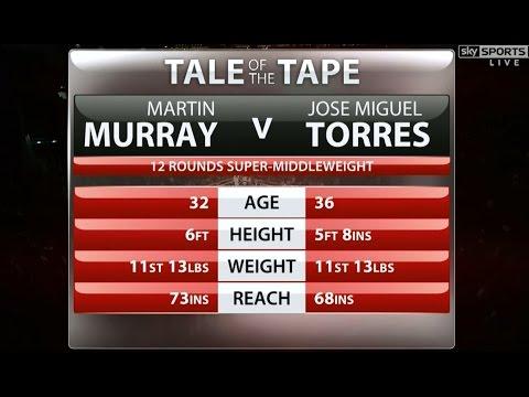 Martin Murray vs Jose Miguel Torres / Full Fight 05.09.2015 / HDTV 720
