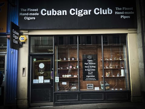 Shop Tour, Cuban Cigar Club, Newcastle UK