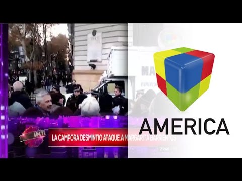 Margarita Barrientos señaló a La Cámpora por la agresión al camión de su Fundación