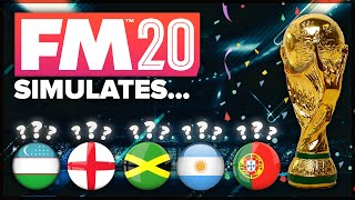 World Cup 2022: A Football Manager Simulation
