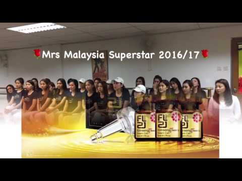 FL21 Ginseng Flower Stem Cell & Mrs Malaysia Superstar 2016/17