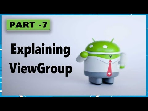 android app development tutorial for beginners Part 7 ViewGroups thumbnail