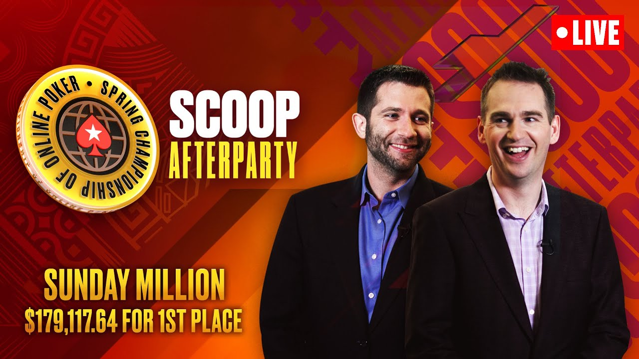 Download FINAL TABLE - SCOOP Afterparty - Sunday Million SPECIAL EDITION ♠️ SCOOP 2021 ♠️ PokerStars