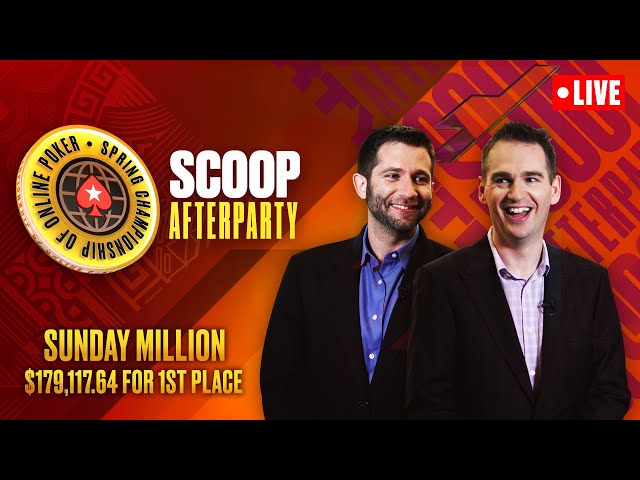 FINAL TABLE - SCOOP Afterparty - Sunday Million SPECIAL EDITION ♠️ SCOOP 2021 ♠️ PokerStars