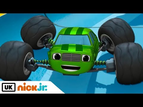 Blaze and the Monster Machines | Construction Crew to the Rescue | Nick Jr. UK