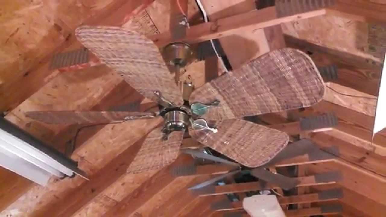 Fanimation Islander Ceiling Fan Model Fp320ab1 With Wicker