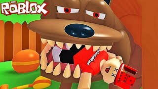 EATEN BY MY DOG?! | Roblox!