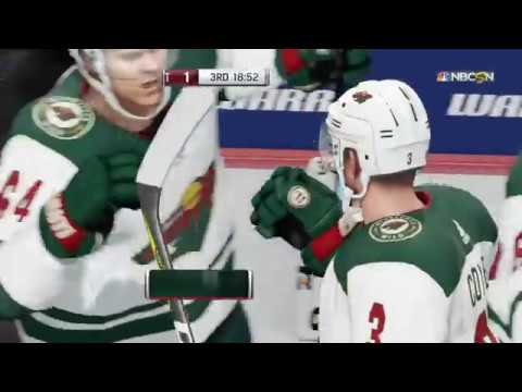 NHL® 18 PS4 Pro 2017 Opening Night Matchup: Minnesota Wild vs Detroit  Red Wings.