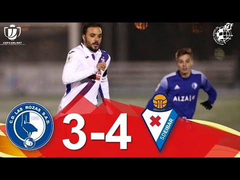 Las Rozas Eibar Goals And Highlights