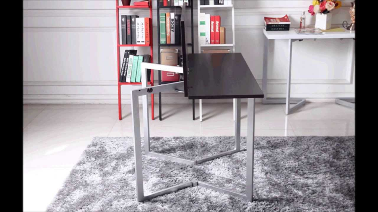 console desk turns into dining table by murphysofa canada YouTube