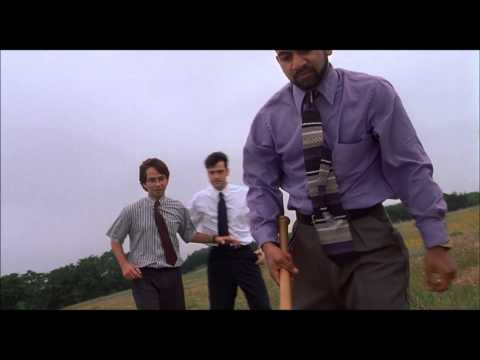Office Space - Printer Scene (UNCENSORED)
