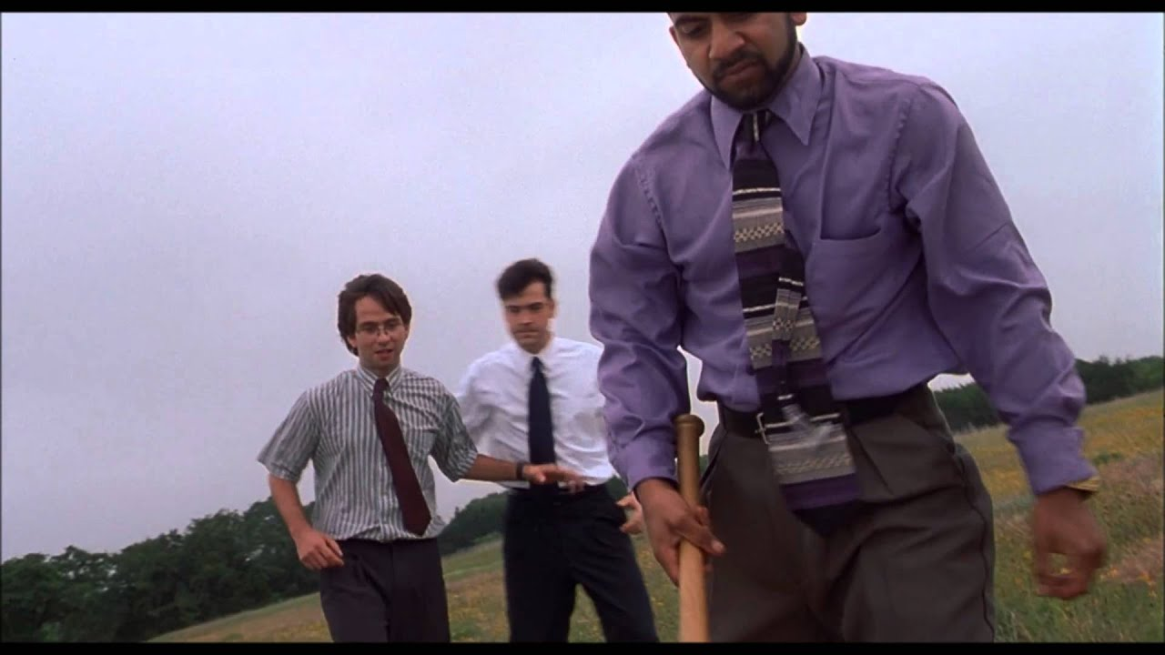 Office space printer scene uncensored youtube for Office space