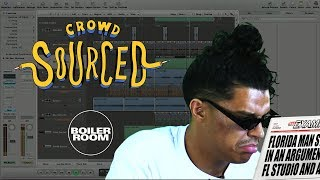 Jarreau Vandal makes beats from sounds you sent in Boiler Room &#39Crowdsourced&#39