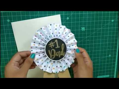 Last minute Father's Day gift | DIY Fathers's Day Gift | DIY Paper Badge