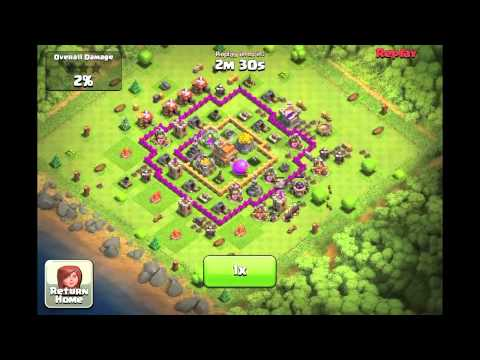 clash of clans smart ways to attack